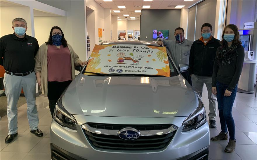 Boxing It Up to Give Thanks and Jenkins Subaru!