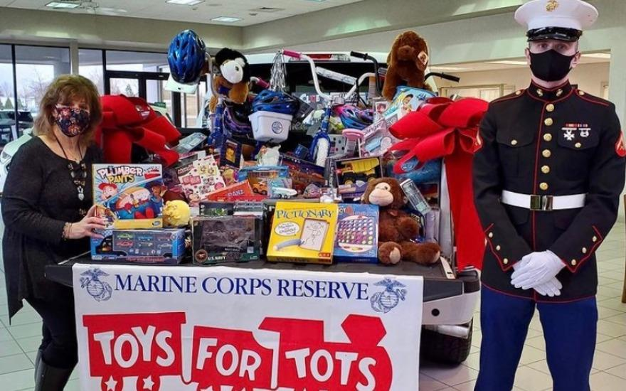 Another Successful Toys for Tots at Miller Subaru!
