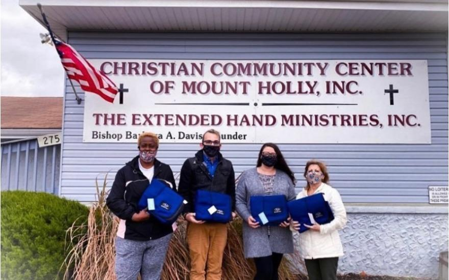 Bringing Warmth to the Extended Hand Ministries!
