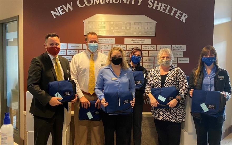 Sharing the Love at the New Community Shelter