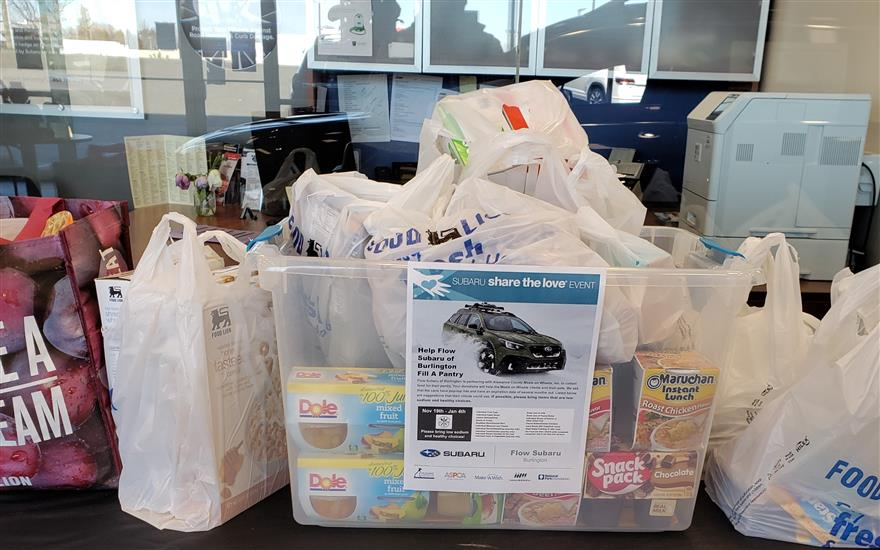 Meals on Wheels Food Drive