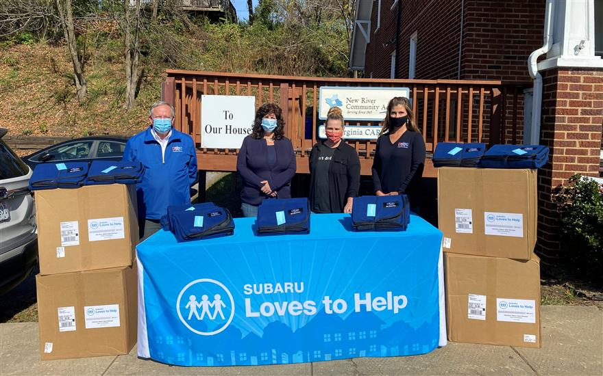 Motor Mile Subaru Helps Local Homeless Shelter