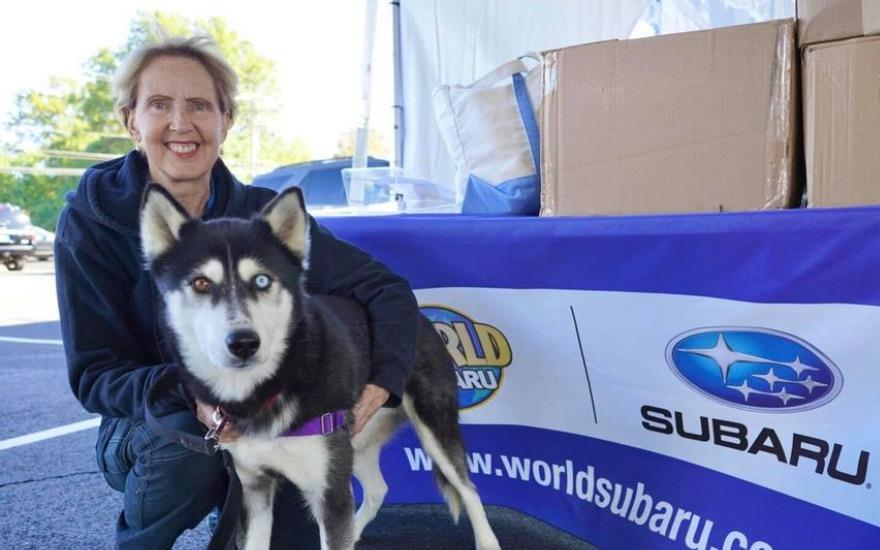 Subaru Finds Puppy Love and Drives It Home