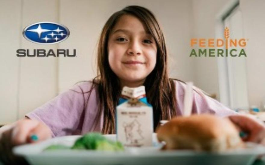 Subaru of Kings Automall helps feed our city.