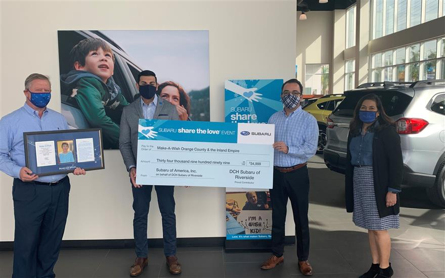 DCH Subaru Shares the Love by granting wishes!