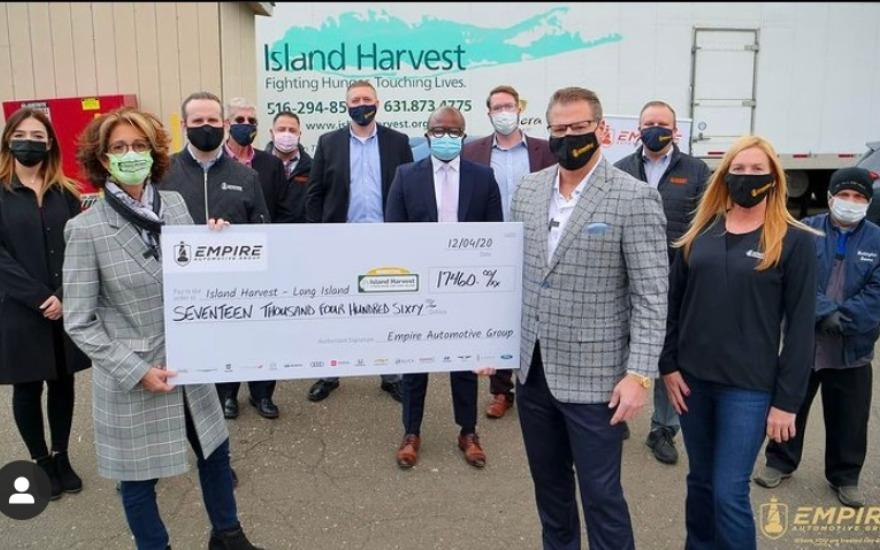 Empire Subaru Huntington Supports Island Harvest