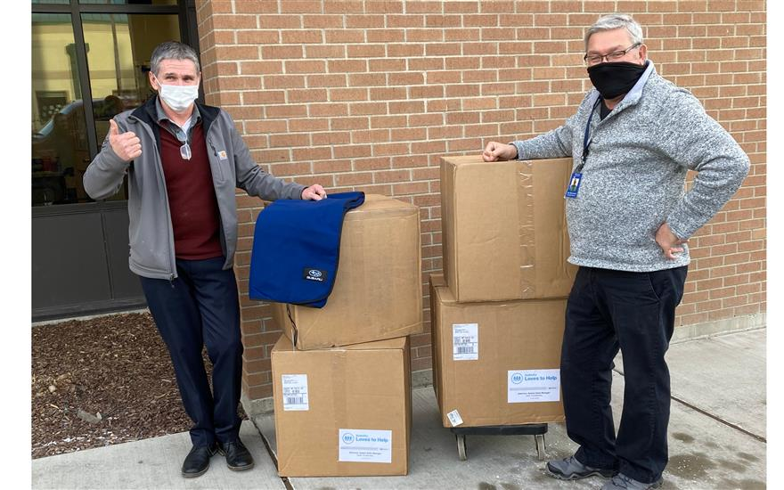Local Homeless Shelter receives blankets