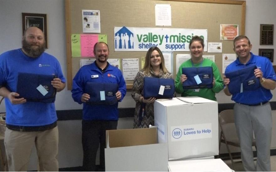 Blankets of Hope--Valley Mission Blanket Donation
