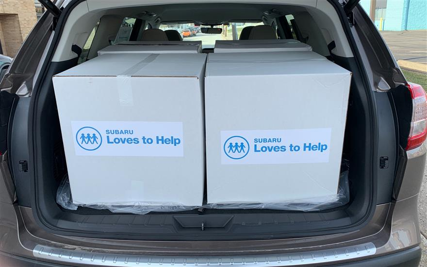 Fairway Subaru Blanket Donation