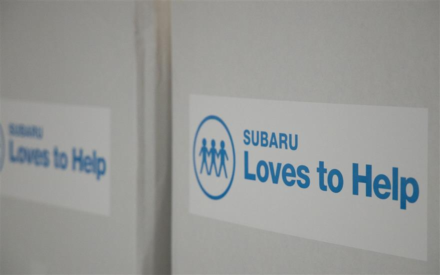 SUBARU LOVES TO HELP - Franklin Women's Shelter