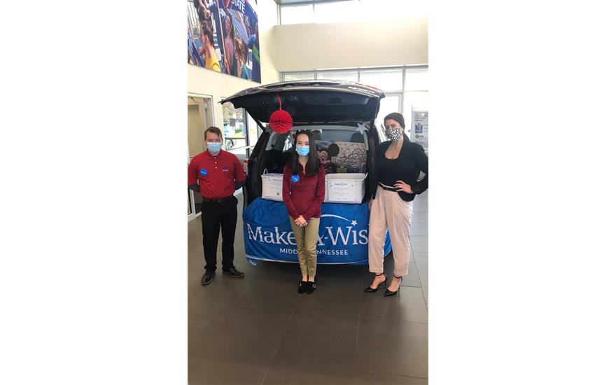 Subaru of Gallatin helps grant wishes!