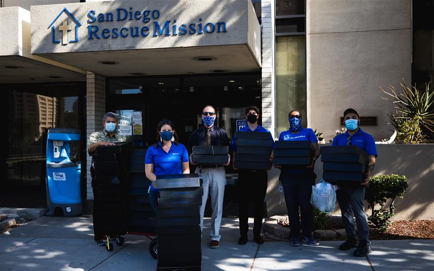 Helping San Diego's homeless and hungry