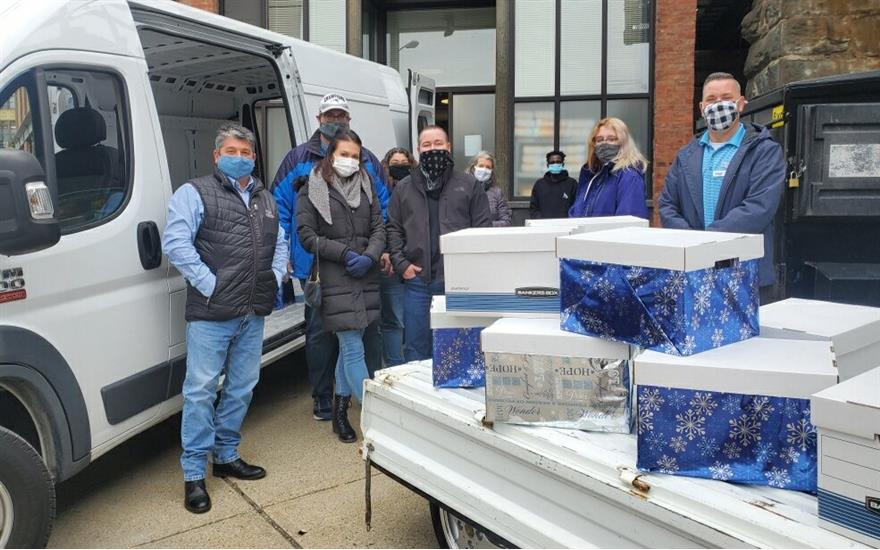 Supportive Food Drive For Shelter