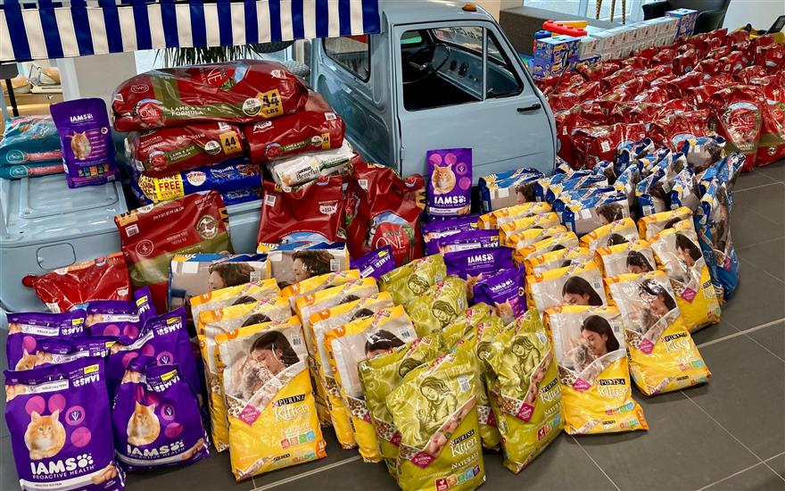 Heaven Can Wait Rescue Food Pantry Restocked
