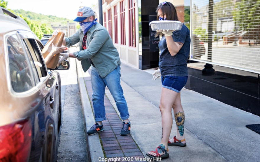 Adventure Subaru supports Meals for Musicians