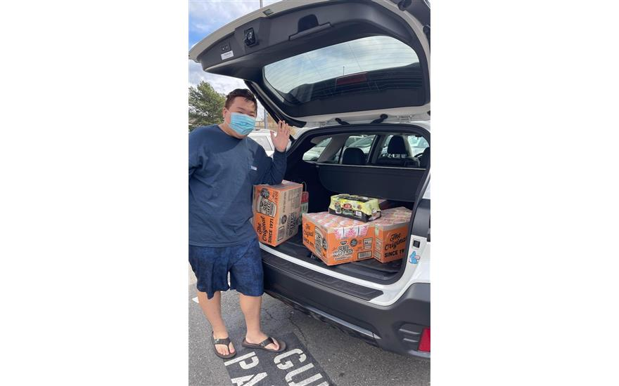 Fill the Forester Food Drive
