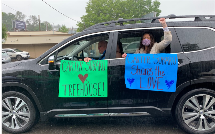 Sharing the Love with Foster Care, Rain or Shine