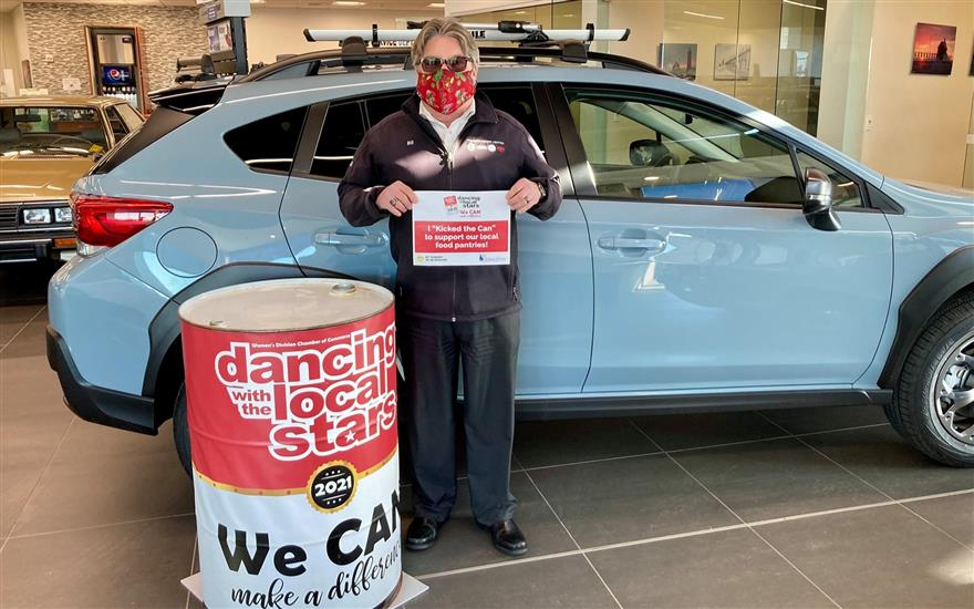 Kicking the Can to Fight Hunger in Muskegon