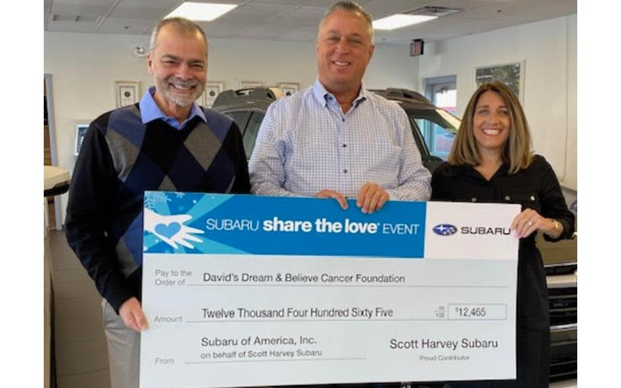 Scott Harvey Subaru Delivers HOPE!