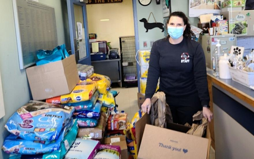 The Cosgrove Animal Shelter Receives Help