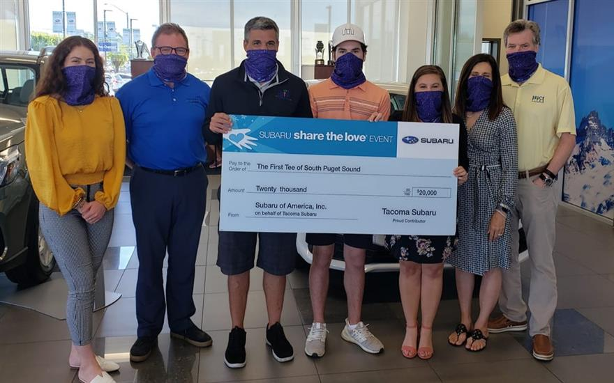 Tacoma Subaru Supports First Tee South Puget Sound