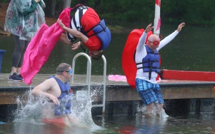 Taking the Plunge to Support the YMCA
