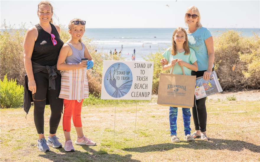 Successful Earth Day Beach Cleanup
