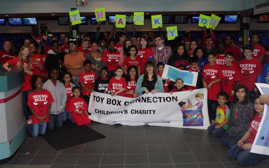 Toy Box Connection Charity & Subaru Super Heros