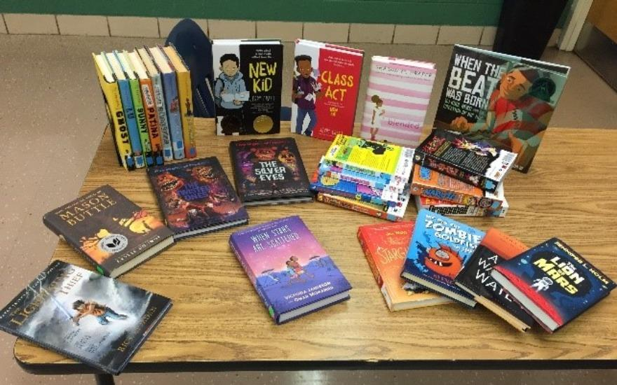 Jumpstart to our school library!
