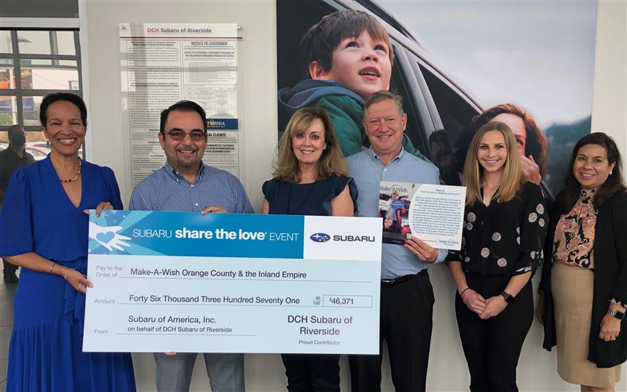 Thank you DCH Subaru for granting SIX more wishes!