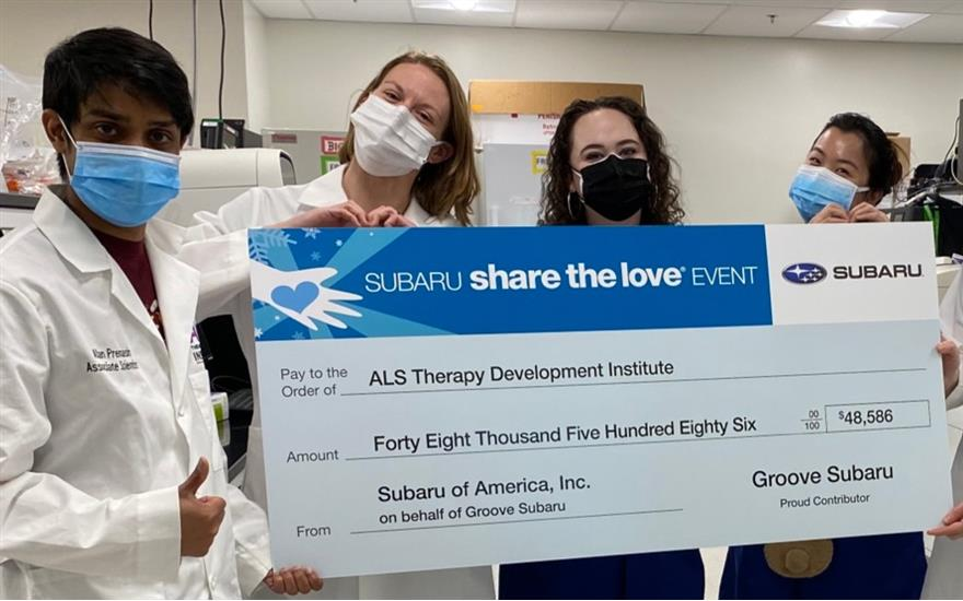 Speeding Up Research for ALS