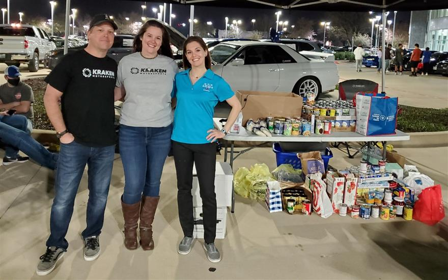 Turbos for Tarrant Area Food Bank