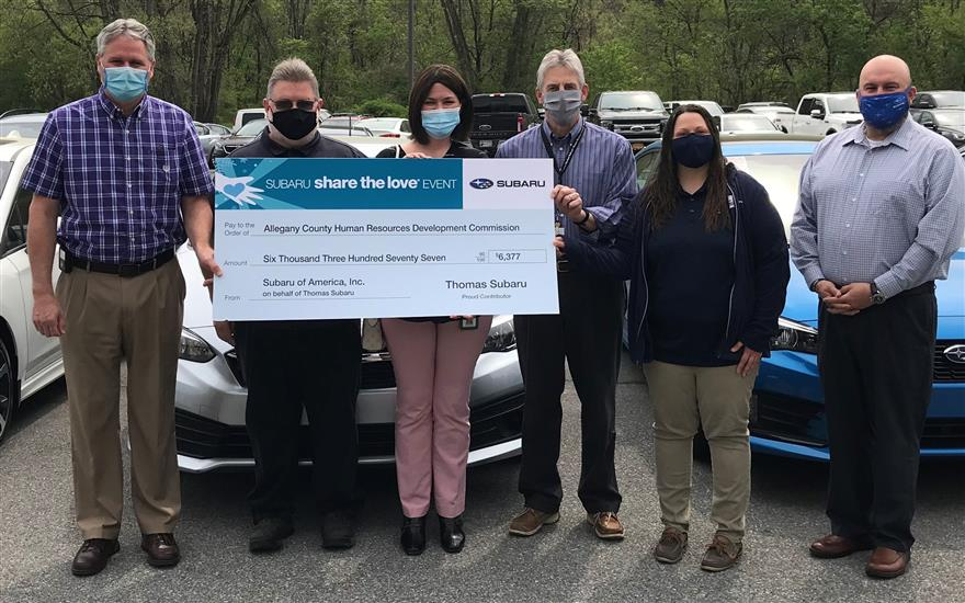 Share the Love Event 2020-Allegany County HRDC