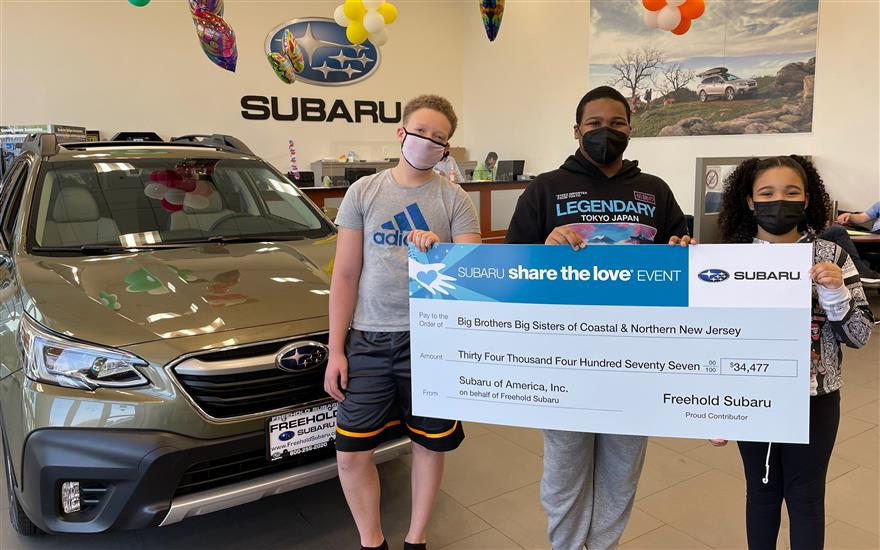 Above and Beyond for Big Brothers Big Sisters