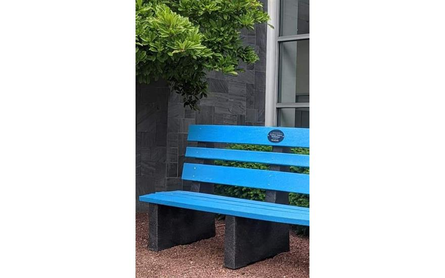 New upcycled benches for our store!