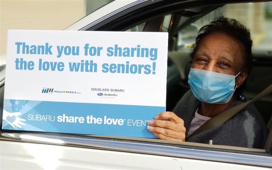 Sharing the Love with Homebound Seniors