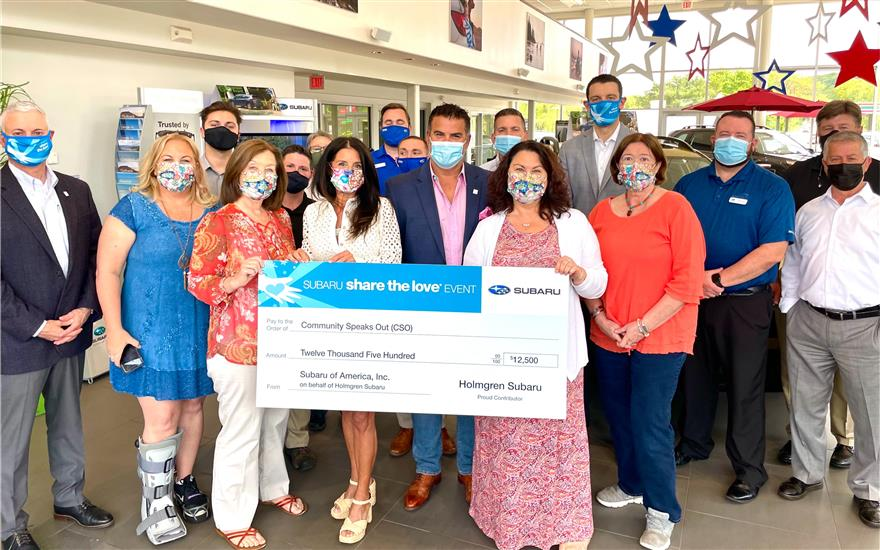 Holmgren Subaru Supports Community Speaks Out