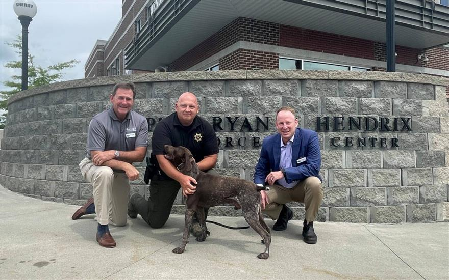 The Newest Member of the K-9 Team!