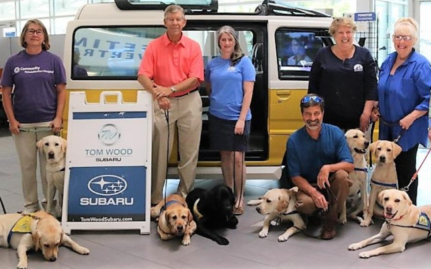 Dogs In Service Bringing Therapy To Those In Need