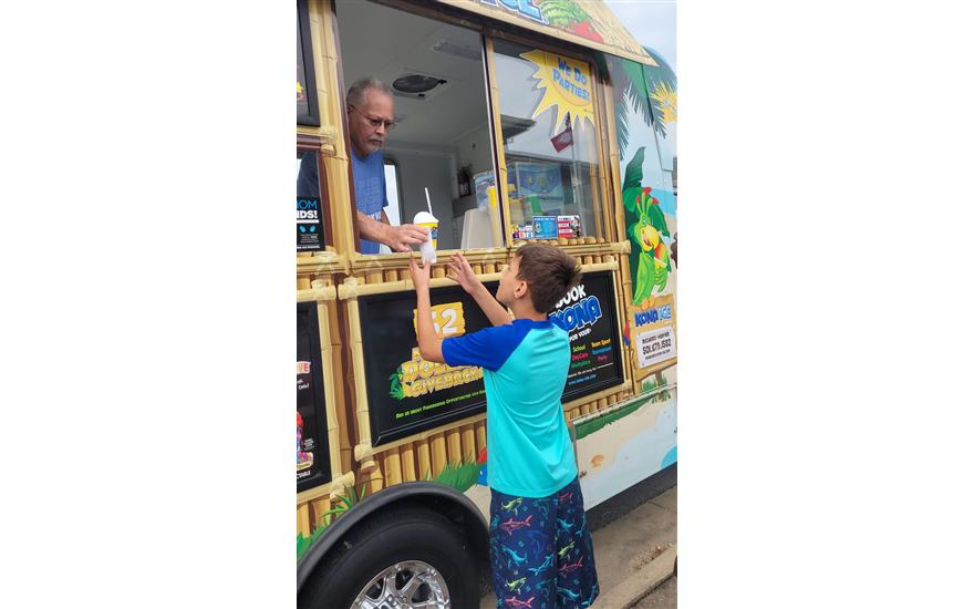 Snow Cone Day for Bryant Boys and Girls Club