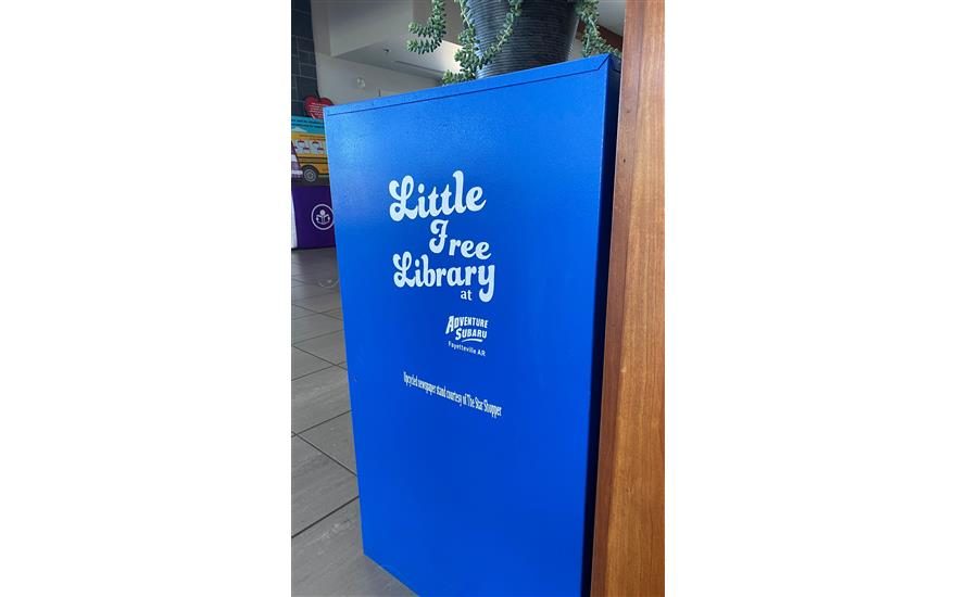 Adventure Gets a Little Free Library!