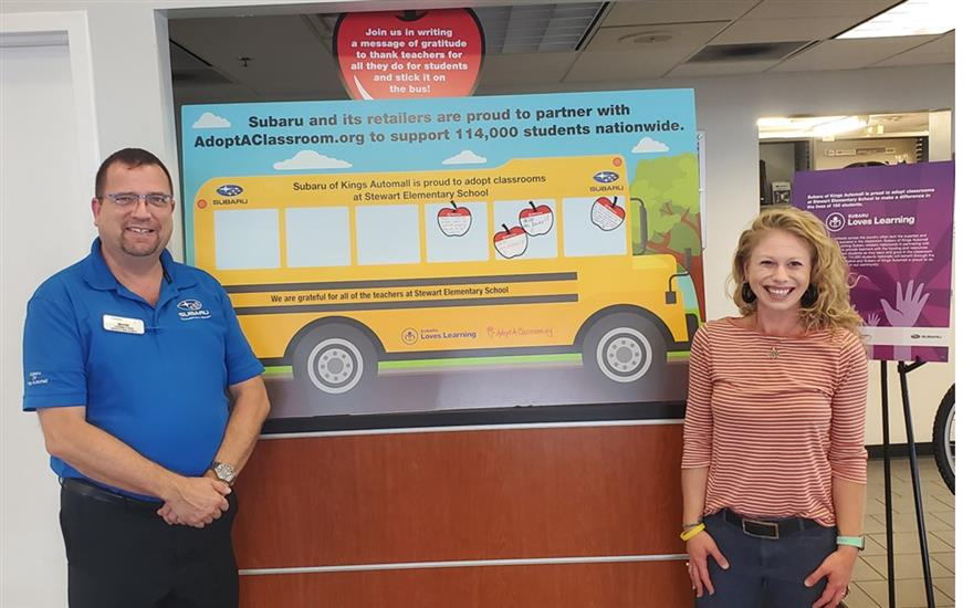 Subaru of Kings Automall Loves Learning