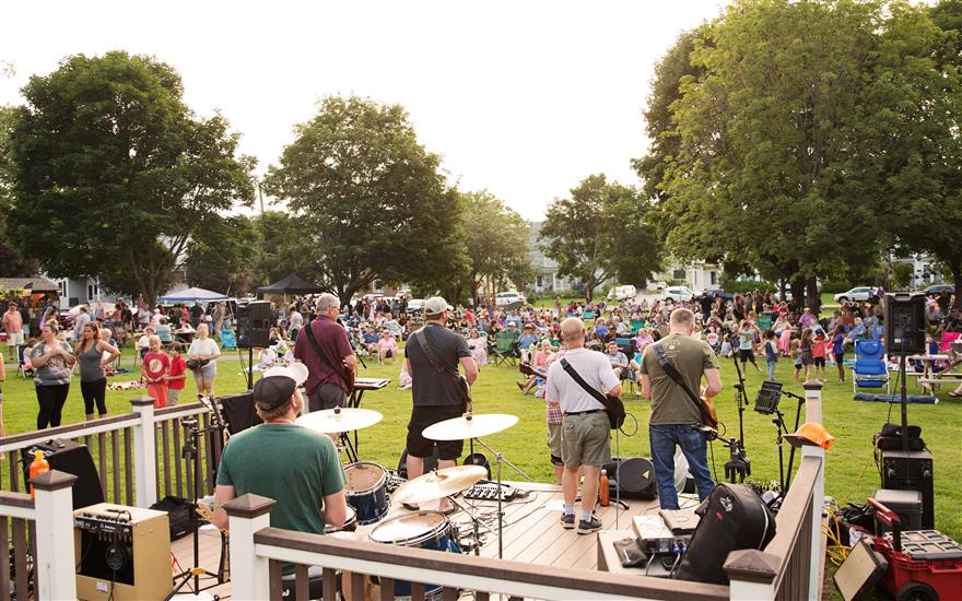 Concerts in Currier Park Series in Barre, VT