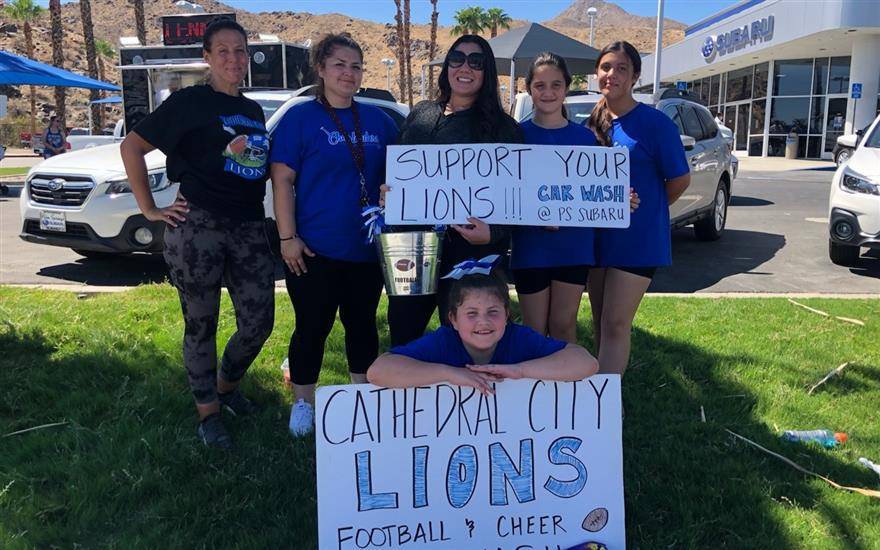 Cathedral City Youth Lions Car Wash